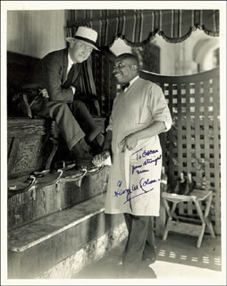 GEORGE M. COHAN - AUTOGRAPHED INSCRIBED PHOTOGRAPH