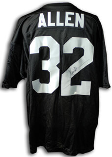 MARCUS ALLEN - JERSEY SIGNED