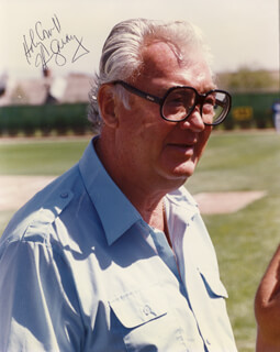 HARRY CARAY - AUTOGRAPHED SIGNED PHOTOGRAPH