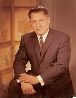 JAMES R. JIMMY HOFFA - AUTOGRAPHED INSCRIBED PHOTOGRAPH