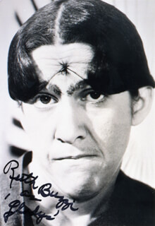 RUTH BUZZI - AUTOGRAPHED SIGNED PHOTOGRAPH