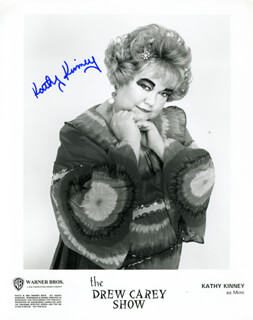 KATHY KINNEY - AUTOGRAPHED SIGNED PHOTOGRAPH
