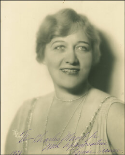 LOUISE DRESSER - AUTOGRAPHED INSCRIBED PHOTOGRAPH 1928
