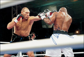 NIKOLAI VALUEV - AUTOGRAPHED SIGNED PHOTOGRAPH