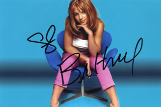 BRITNEY SPEARS - AUTOGRAPHED SIGNED PHOTOGRAPH