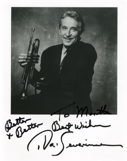 DOC SEVERINSEN - AUTOGRAPHED INSCRIBED PHOTOGRAPH