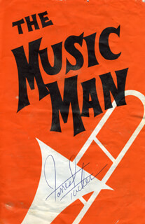 Autographs: FORREST TUCKER - PROGRAM SIGNED