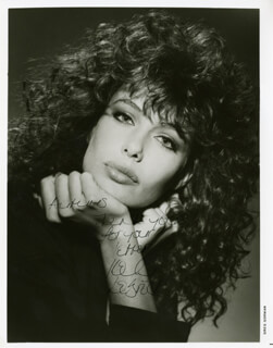 KELLY LE BROCK - AUTOGRAPHED INSCRIBED PHOTOGRAPH