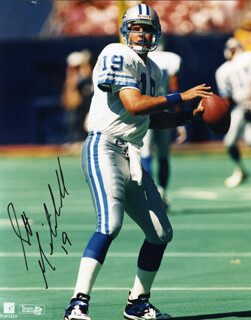 SCOTT MITCHELL - AUTOGRAPHED SIGNED PHOTOGRAPH