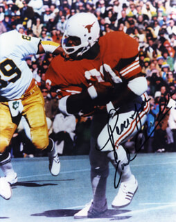 EARL CAMPBELL - AUTOGRAPHED SIGNED PHOTOGRAPH