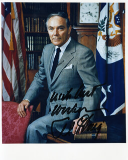 Autographs: GENERAL ALEXANDER M. HAIG JR. - PHOTOGRAPH SIGNED