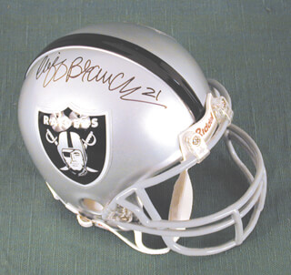 CLIFF BRANCH - MINIATURE HELMET SIGNED