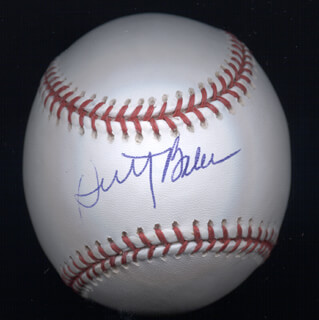 DUSTY BAKER - AUTOGRAPHED SIGNED BASEBALL