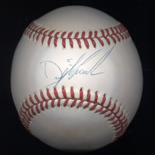 DWIGHT DOC GOODEN - AUTOGRAPHED SIGNED BASEBALL  - HFSID 274780