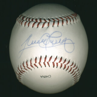 SANDY ALOMAR JR. - AUTOGRAPHED SIGNED BASEBALL