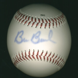 Autographs: BOB BUHL - BASEBALL SIGNED