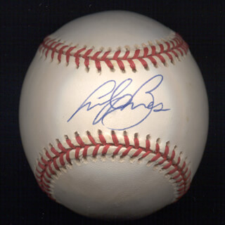 ANDY BENES - AUTOGRAPHED SIGNED BASEBALL