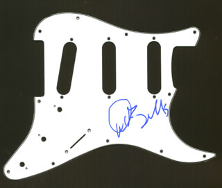 Autographs: ALLMAN BROTHERS (DICKEY BETTS) - PICK GUARD SIGNED