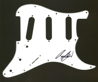 KISS (BRUCE KULICK) - PICK GUARD SIGNED