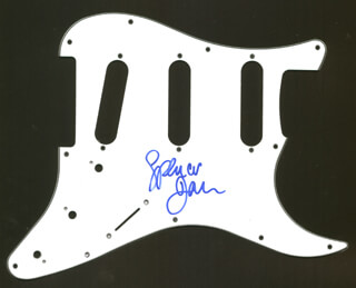 SPENCER DAVIS GROUP (SPENCER DAVIS) - PICK GUARD SIGNED