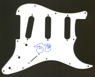 CROSBY, STILLS & NASH (STEPHEN STILLS) - PICK GUARD SIGNED