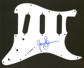 GARY BURR - PICK GUARD SIGNED