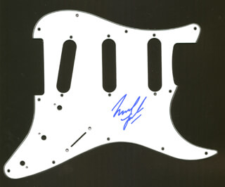 GREAT WHITE (MICHAEL LARDIE) - PICK GUARD SIGNED