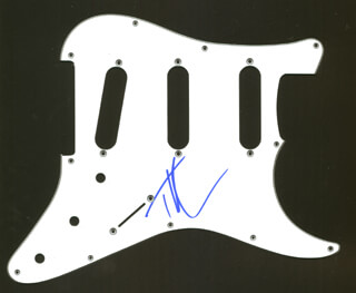 TIM McGRAW - PICK GUARD SIGNED