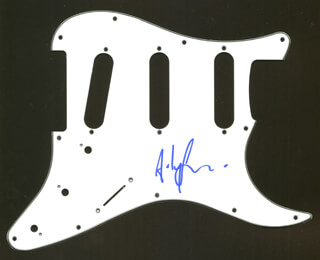 THE POLICE (ANDY SUMMERS) - PICK GUARD SIGNED