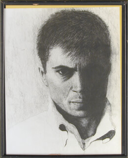 Autographs: ROBERT BLAKE - ORIGINAL ART UNSIGNED