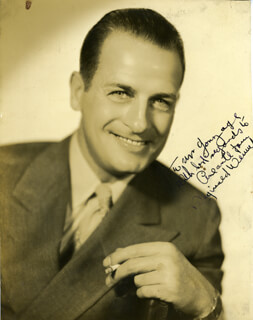REGINALD DENNY - AUTOGRAPHED SIGNED PHOTOGRAPH
