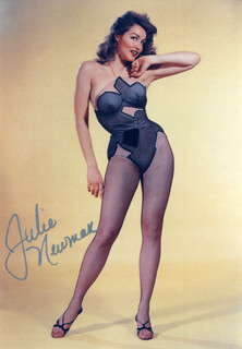 JULIE NEWMAR - AUTOGRAPHED SIGNED PHOTOGRAPH CIRCA 1990