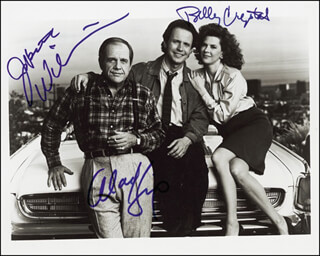 MEMORIES OF ME MOVIE CAST - AUTOGRAPHED SIGNED PHOTOGRAPH CO-SIGNED BY: BILLY CRYSTAL, ALAN KING, JOBETH WILLIAMS