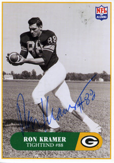 RON KRAMER - TRADING/SPORTS CARD SIGNED