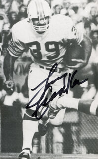 LARRY CSONKA - AUTOGRAPHED SIGNED PHOTOGRAPH