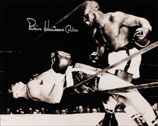 RUBIN HURRICANE CARTER - AUTOGRAPHED SIGNED PHOTOGRAPH