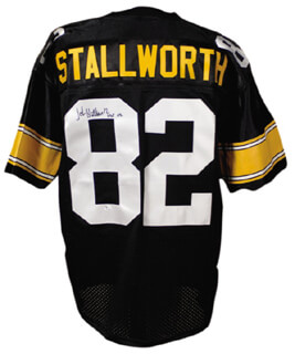 Autographs: JOHN STALLWORTH - JERSEY SIGNED