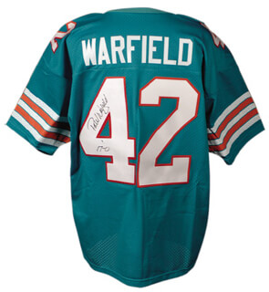 PAUL WARFIELD - JERSEY SIGNED - HFSID 275284 1aac97e50