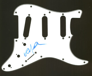 WILLIE NELSON - PICK GUARD SIGNED