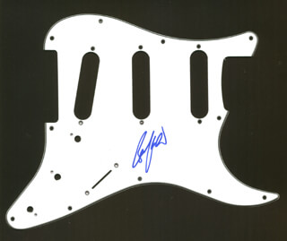 BRUCE KULICK - PICK GUARD SIGNED