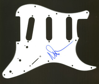 PINK FLOYD (NICK MASON) - PICK GUARD SIGNED