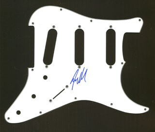 GUNS N' ROSES (STEVEN ADLER) - PICK GUARD SIGNED