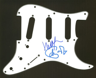 PHISH - PICK GUARD SIGNED CO-SIGNED BY: PHISH (TREY ANASTASIO), PHISH (MIKE GORDON)