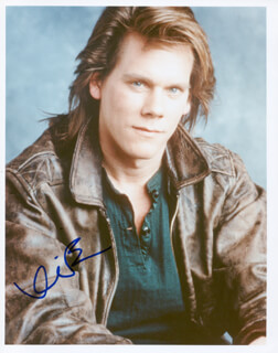 KEVIN BACON - AUTOGRAPHED SIGNED PHOTOGRAPH