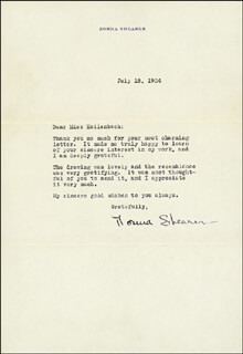 NORMA SHEARER - TYPED LETTER SIGNED 07/18/1934