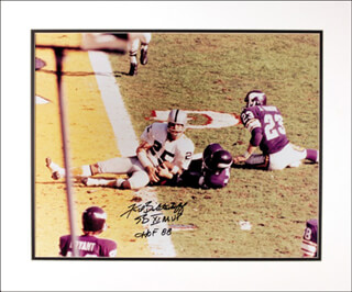 Autographs: FRED BILETNIKOFF - PHOTOGRAPH SIGNED