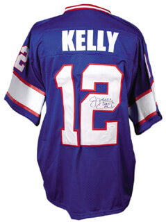 JIM KELLY - JERSEY SIGNED