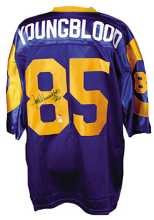 JACK YOUNGBLOOD - JERSEY SIGNED