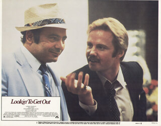 LOOKING TO GET OUT MOVIE CAST - LOBBY CARD UNSIGNED (USA) 1982