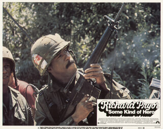 SOME KIND OF HERO MOVIE CAST - LOBBY CARD UNSIGNED (USA) 1982